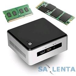 Intel NUC [BOXNUC5I3RYH] Intel Core i3 5010U, 2.1 GHz, 2xDDR3 SODIMM, VGA Intel HD Graphics 5500 (miniDP+miniHDMI), 4xUSB3.0, 1x mSATA SSD, 1×2.5HDD, GBL, WiFi+BT, noCR, Silver/Black,VES