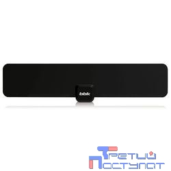BBK DA18 черная {Комнатная цифровая DVB-T антенна}