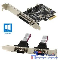ORIENT XWT-PE2S1PV2 OEM {PCI-E 2xRS232, 1xIEEE1284}