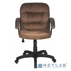 Бюрократ T-9908AXSN/MF102  (Кресло руководителя коричневый MF102 микрофибра)