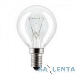 General Electric Брест  P45 шарик 60W 230V E14 CL {прозрачная колба}