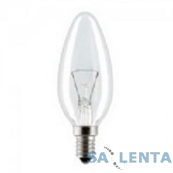 General Electric Брест B35 свеча 40W 230V E14 CL {прозрачная колба}