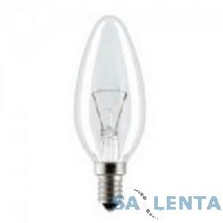 General Electric Брест B35 свеча 60W 230V E14 CL {прозрачная колба}