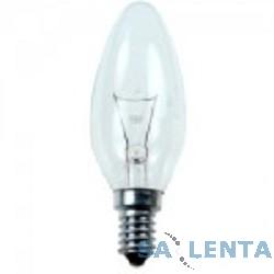 General Electric Брест B35 свеча 60W 230V E27 CL {прозрачная колба}
