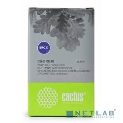 CACTUS ERC30 Картридж ленточный Cactus CS-ERC30 черный для Epson ERC 30/34/38 1600000 signs