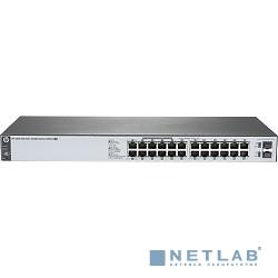 HP J9983A Коммутатор HPE 1820-24G-PoE+ управляемый 19U 24x10/100/1000BASE-T, 4*SFP, 185W