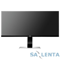 LCD AOC 34″ u3477Pqu черный {IPS LED 3440×1440 5ms 21:9 DVI HDMI M/M матовая HAS Pivot 320cd D-Sub DisplayPort}