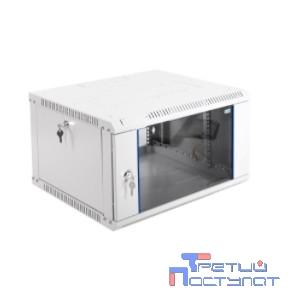 ЦМО! Шкаф телеком. настенный разборный 6U (600х650) дверь стекло (ШРН-Э-6.650) (1 коробка)