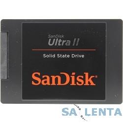 SanDisk SSD 240Gb Ultra II SDSSDHII-240G-G25 {SATA3.0, 7mm}