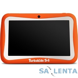Планшетный компьютер «TurboKids S4» оранжевый {7.0″1024х600,8Gb,512Mb,Wifi,Android 4.4}