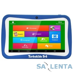 Планшетный компьютер «TurboKids S4» синий {7.0″1024х600,8Gb,512Mb,Wifi,Android 4.4}