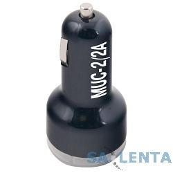 Разветвитель в прикуриватель Mystery MUC-2/2A (USB)