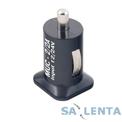 Разветвитель в прикуриватель Mystery MUC-2/3A (USB)