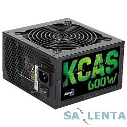 Aerocool 600W RTL KCAS-600W  {ATX12V V2.3 (20/24+4/8+6/8pin, вентилятор d 120мм)}