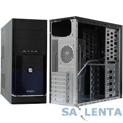 Корпус GIGABYTE GZ-F3 , черный/синий w/o PSU, ATX, 2xUSB2.0, audio