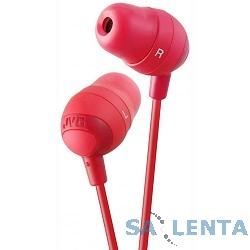 JVC Marshmallow HA-FX32-R вкладки из пеноматериала Цвет: красный