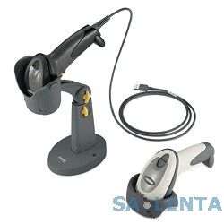 Motorola DS6707-SR [DS6707-SRBU0100ZR] черный {USB Kit: DS6707-SR20007ZZR Scanner, CBA-U01-S07ZAR USB Cable}