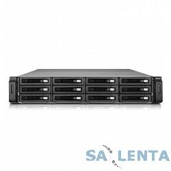 QNAP TS-EC1280U-RP Сетевой RAID-накопитель, 12 отсеков для HDD, ECC-память, стоечное исполнение, два блока питания. Intel Xeon E3-1200 v3 3,4 ГГц. Направляющие в комплект поставки не входят.