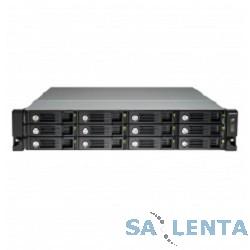 QNAP TVS-1271U-RP-i7-32G Сетевой RAID-накопитель, 12 отсеков для HDD, стоечное исполнение, два блока питания. Четырехъядерный Intel Core i7-4790S 3,2 ГГц, 32ГБ.