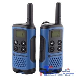 Motorola P14MAA03A1BH TLKR T41 Blue Радиостанция  (комплект из 2 радиостанций)