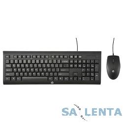 HP H3C53AA {Клавиатура + мышь HP C2500 клав:черный мышь:черный USB}