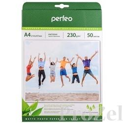 Perfeo PF-MTA4-230/50  Бумага Perfeo матовая, А4 230 г/м2 ,  50л