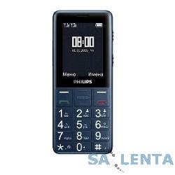 Philips Xenium E311 Navy Dual sim {2.4″320×240,камера,microSD,MP3-плеер, радио}