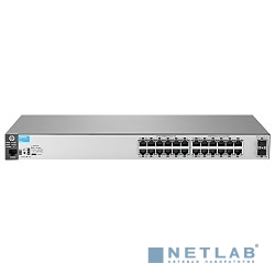 HP J9856A Коммутатор HPE 2530-24G-2SFP+ управляемый 19U 1x10/100BASE-TX 24x10/100/1000BASE-T
