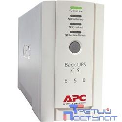 APC Back-UPS CS 650VA BK650EI