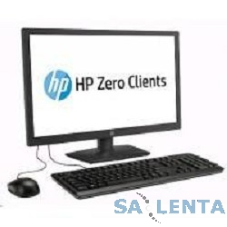 HP J2N80AA  ZERO Client HP t310 1920×1080 TERA2321/512Mb/HP Smart Zero Core/черный