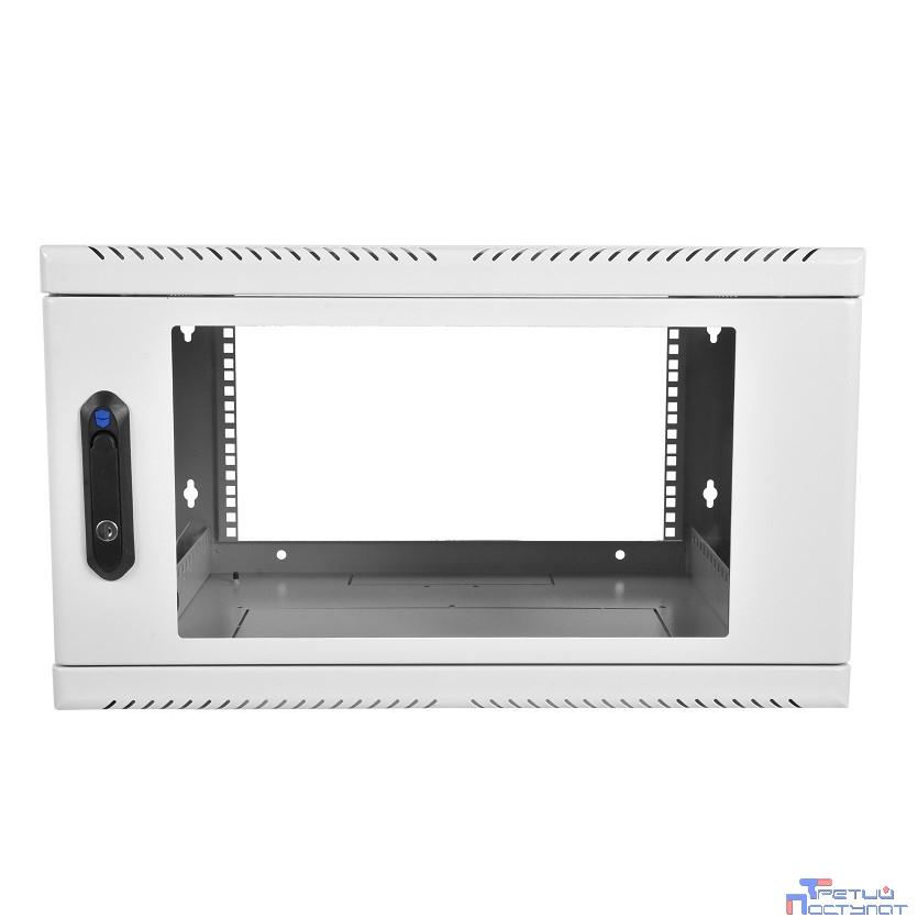 ЦМО! Шкаф телеком. настенный 9U (600х300) дверь стекло (ШРН-9.300) (1 коробка)