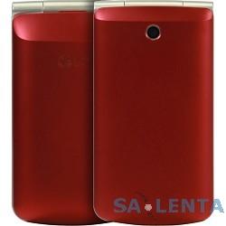 LG G360 red {3″ 320×240,3G,Wi-Fi,MP3,Bluetooth 2.1, 20 Мб, 1.3Mpix,2 SIM} [LGG360.ACISRD]