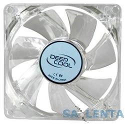 Case fan Deepcool XFAN 80L/B {80x80x25, 3 pin, 20dB, 1800rpm, 60g, blue LED}