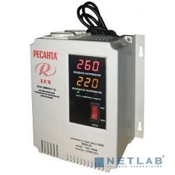 Ресанта АСН-2 000 Н/1-Ц 63/6/15 Стабилизатор Lux {220В±8%, Габариты 260х155х310, Вес 8кг}