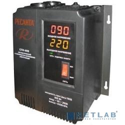 Ресанта СПН-900 63/6/23 Стабилизатор {Настенный , 220В±8%, Габариты 206х133х230, Вес 4 кг}