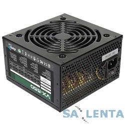Aerocool 550W RTL VX-550 V2.3 {20/24+2 SATA+2 PATA+6/8 pin, вентилятор d120mm}