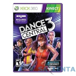 MICROSOFT 3XK-00044 {Игра для Xbox360 Microsoft Dance Central 3 (12+) (RUS)}