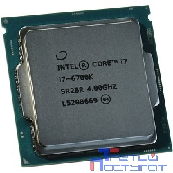 CPU Intel Core i7-6700K Skylake BOX {4ГГц, 8МВ, Socket1151 без кулера}
