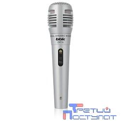 Микрофон BBK CM114 серебряный