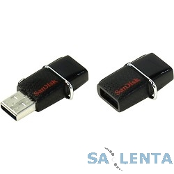 SanDisk USB Drive 16Gb Ultra Dual SDDDC2-016G-G46 {USB3.0/Type-C, Black}