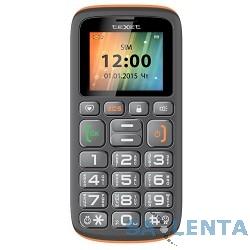 TEXET TM-B115 Мобильный телефон цвет черно-оранжевый