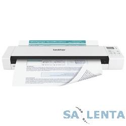 Brother DS-820W, A4, 7,5 стр/мин, 600 dpi, WiFi, USB, литиевая батарея AP-1306, SD-карта 4Гб