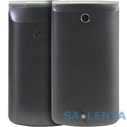 LG G360 titan {3″ 320×240,3G,Wi-Fi,MP3,Bluetooth 2.1, 20 Мб, 1.3Mpix,2 SIM} [LGG360.ACISTN]