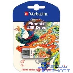 Verbatim USB Drive 16Gb Mini Tattoo Edition Phoenix 049887 {USB2.0}