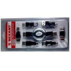 REXANT (18-1202) Набор USB  6 переходников + удлинитель