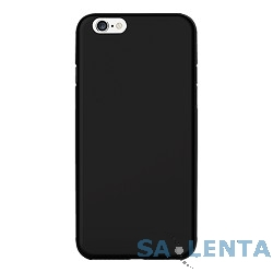 Ozaki O!coat 0.4 JELLY case for iPhone 6 Plus. Black (OC580BK)