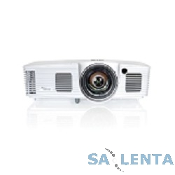 Optoma X316ST Проектор {(Full 3D), DLP, XGA (1024*768), 3400 ANSI Lm, 20 000:1, Короткофокусный Throw Ratio 0.617:1; HDMI, 2×15-пин D-sub (RGB/YPbPr/Wireless)}