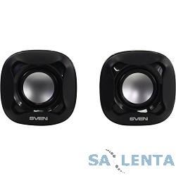 AC SVEN 170, чёрный (5 Вт, питание USB)