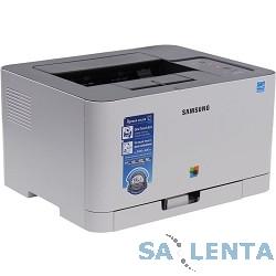 Samsung SL-C430 Цветной лазерный принтер  (A4, 18/4 стр./мин, 2400x600dpi, 64Мб, SPL-C, USB, лоток 150листов) SL-C430/XEV