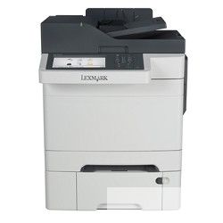 Lexmark лазерное цветное CX510dthe (А4, 30стр/<wbr>м, копир/<wbr>принтер/<wbr>сканер/<wbr>дуплекс/<wbr>автопод 1200х 1200dpi, тачскрин, 512МВ) [28E0566]